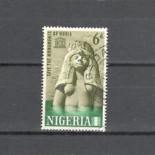 NIGERIA 153 - MONUMENTI NUBIA 1964 - MAZZETTA DI 5 - VEDI FOTO