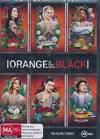 Orange Is The New Black Season Three 3 DVD NEW third Season Region 4 PAL