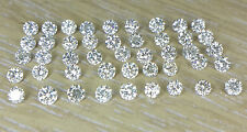 40pc 1.8mm, 2pc 1.6mm,4pc 1.4mm, 2pc 1.1mm Natural Loose Round Diamond I Clarity