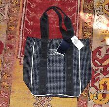 NWT Vintage Deadstock POLO SPORT Ralph Lauren Plaid Tote Bag
