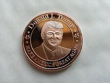 1 OZ .999 Moneda Fina de cobre redonda/- Donald J. Trump * hacer America Great Again *