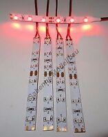 5 Stück LED Strip Rot Verkabelt als Kirmes-Weihnachts-oder Hausbeleuchtung C2807
