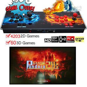 Pandora's Box 20 Retro Video Game Consoles 4263 Classical Games 60 3D Games HDMI