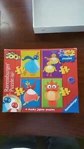 Ravensburger Twirly Woos my first puzzles. 4 puzzles No. 07 020 6
