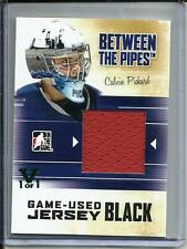 Calvin Pickard 10/11 Between the Pipes Game Used Jersey #1/1