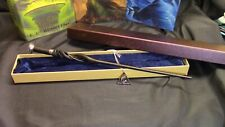 Harry Potter - Young Albus Dumbledore  Wand w/ FREE Deathly Hallow Necklace