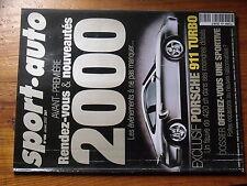 $$t Revue sport auto N°456 Porsche 911 Turbo  Tommi Makinen  F1 BMW  Ferrari 456