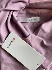 "NWT Lululemon 6 Align High Rise Crop 21"" Pink Peach Stretch Soft Yoga Pants"