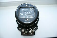 Vintage Round Electrical Watt Hour Meter Russian Soviet Working Condition 1962