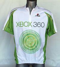 Hincapie White Microsoft XBOX 360 Cycling Race Jersey Sz 2XL Half Zip 3 Pocket