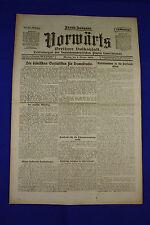 VORWÄRTS (6. Oktober 1919): Die dänischen Sozialisten für Demokratie [Danmark]