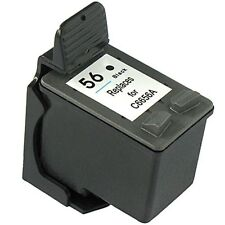 Remanufactured Ink Cartridge for HP 56 C6656A Black for HP Officejet 2110 4105