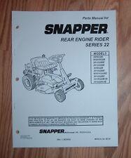 free snapper manuals
