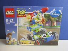 Lego 7590 juguete historia Woody y Buzz al rescate RC Coche Juego Completo Minifigura