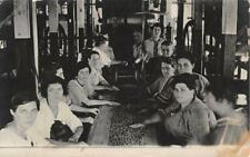 RPPC EDMORE MI 1904-18 Women Sorting Fruit @ Roach Canning Company VINTAGE 557