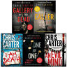Chris Carter Collection One by One Evil Mind Caller Death 5 Books Set New