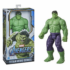 Marvel Avengers Titan Hero Series Blast Gear Deluxe Hulk Action Figure, 12-Inch