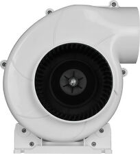 "SEAFLO 4"" Bilge Blower Fan 320 CFM 12V DC White Ventilation Boat Air Flex-Mount"