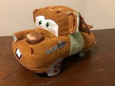 """Disney Store Authentic Exclusive Pixar Cars Tow Mater Plush Stuffed Truck 12"""""""