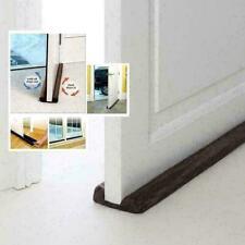 Twin Door Draft Dodger Guard Stopper für Türen Windows Protector Türstopper N1K0