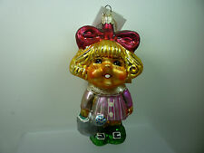 "Christopher Radko 1996 Retired DAISY DARLING 5"" NWT Christmas Ornament"
