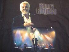 Kenny Rogers Singer The Journey Concert Tour Black T Shirt Size L