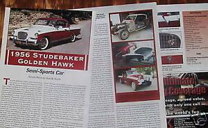 p 56 1956 Studebaker Golden Hawk Info