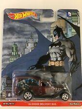 Hot Wheels Pop Culture Marvel Batman 36 Dodge Delivery Bus Real Riders