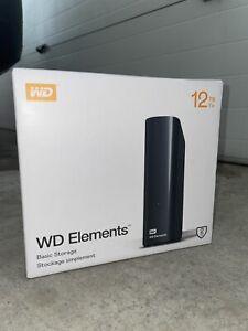 WD Elements 12TB External Desktop Hard Drive Chia NEW 3.0
