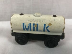 Thomas & Friends Train Engine Tidmouth Milk Tanker Wooden Railway Magnetic Toy