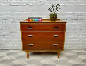 Vintage Chest of Bedroom Drawers