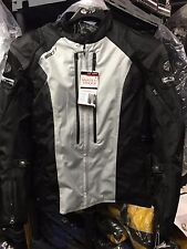 JOE ROCKET ATOMIC 5.0 MENS TEXTILE MOTORCYCLE JACKET GREY BLACK   XL   REAL PIC