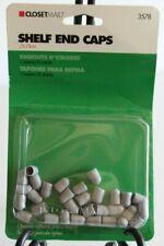 ClosetMaid 3578 Wire Shelf End Caps, 24 Pieces Gray (GM6)