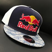 RED BULL  ATHLETE ONLY HAT - VERY RARE  - 2018 - HAWAII SNAPBACK FLORAL