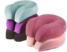 Xl Memory Foam U-Shape Face Rest Pillow Car Seat Travel Cushion- Head Support