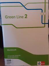 Klett Green Line 2 G9 Workbook mit Lösungen, Audio-CDs und Übungssoftware