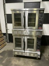 Lang Accu Plus Gcof Ap Nat Convection Oven Natural Gas Pair Stacked Double Deck