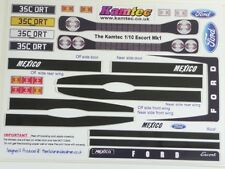 MKI FORD ESCORT Body Decal Set 1:10