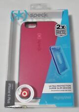 New Speck MightyShell Fuchsia Pink/Cupcake Case for iPhone 6 Plus SPK-A3826