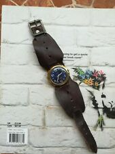 Vintage Timex Manual Wind Watch Trench Style Strap