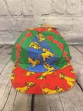 Disney Vintage Lion King Simba Child's Hat Cap New With Tags