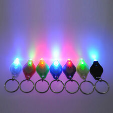 5pcs Mini Bright Flashlight LED Light Torch Keyring Key Chain Camping Hiking #