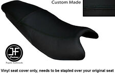 BLACK AUTOMOTIVE VINYL CUSTOM FITS KYMCO PULSAR 2008-2013 DUAL SEAT COVER ONLY