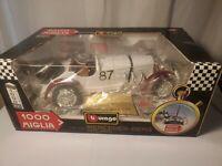 BURAGO 1/18 Scale Diecast 3202 Mercedes-Benz SSKL 1931 1000 Miglia car - NEW