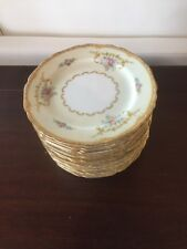 "One Of A Lot Of 15 Noritake 6"" Plate Lotus M 95656"