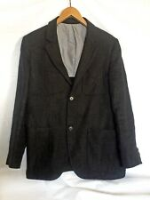 Margaret Howell Linen Jacket XS  black  oversize S