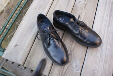 Men's Black Leather Shoes by M & S Size UK 9 rrp £45