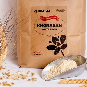 Bio-Oz Khorasan WHITE Flour 4.7kg Australian Grown