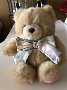 Forever Friends Hallmark Plush Bear with Bow