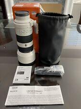 Sony FE 70-200mm f/4 G OSS Lens (SEL70200G) For E-mount Cameras